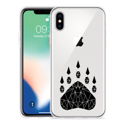 Apple iPhone X Hoesje Geometric Claw