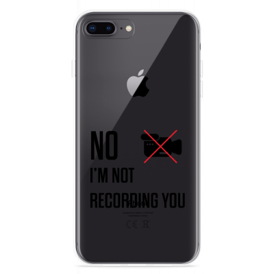iPhone 8 Plus Hoesje Not recording you