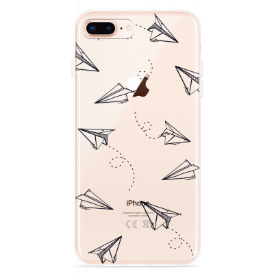 iPhone 8 Plus Hoesje Paper Planes