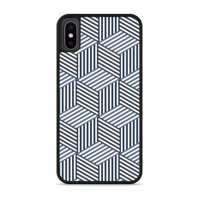 iPhone X Hardcase hoesje Isometric Pattern