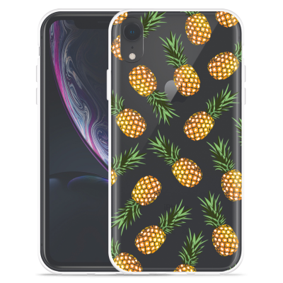 Apple iPhone Xr Hoesje Ananas