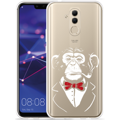 Huawei Mate 20 Lite Hoesje Chimp Smoking