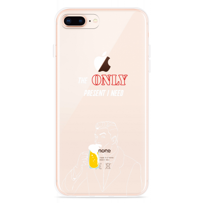 iPhone 8 Plus Hoesje Only Present I Need