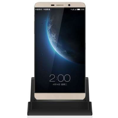 Docking station met USB-C aansluiting voor de HTC U12 Plus - black