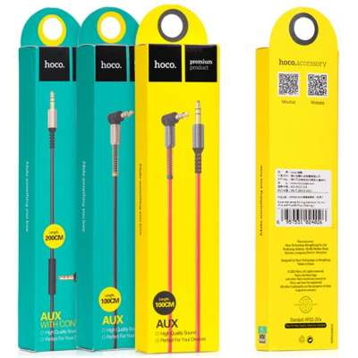 hoco Audiokabel 3.5mm - 1m - Wiko Wim Lite