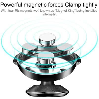 Baseus Lederen Magnetische Dashboard houder