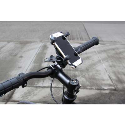 RAM X-Grip Fietshouder met RAM EZ-Strap Rail Mount - zwart