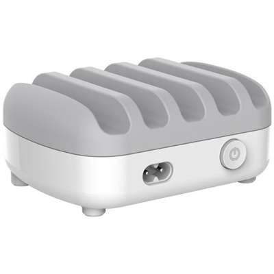 Orico Smart Charging Docking Station - 5 USB Poorten - Wit