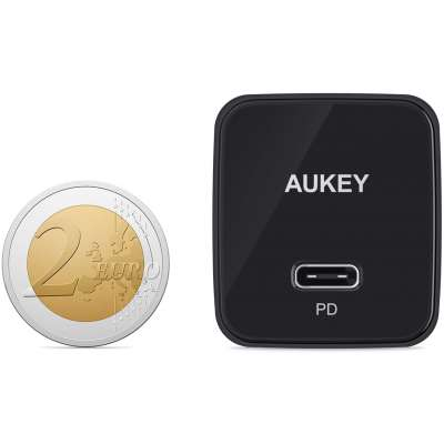 Aukey PA-Y18 Power Delivery 3.0 Thuislader 18W - Zwart