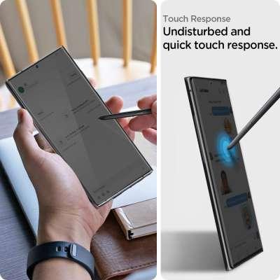 Samsung Galaxy Note 20 Ultra Screenprotector Spigen Neo Flex HD (2 Pack)