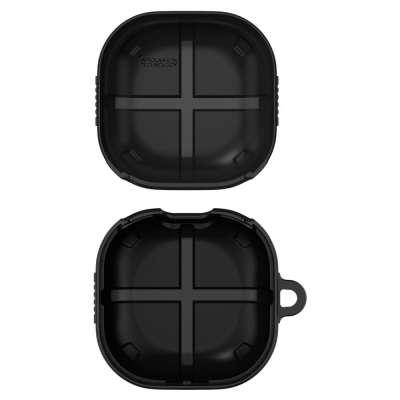 Samsung Galaxy Buds Hoesje - Spigen Rugged Armor Case - Zwart