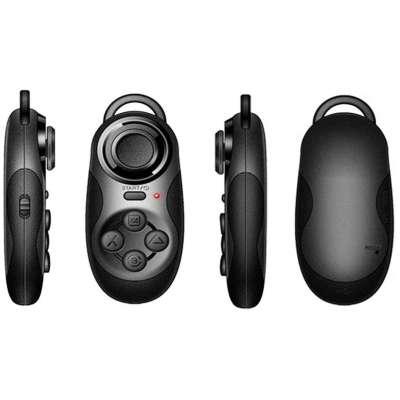 Bluetooth Gamepad en Remote Control voor smartphones en tablets - Black