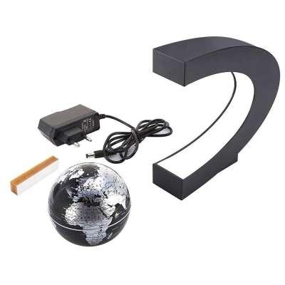 Zwevende Wereldbol Magnetisch Draaibaar - Bureau Accessoire Met LED verlichting