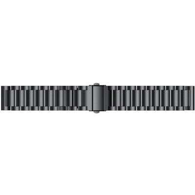 Just in Case Metalen armband voor Samsung Gear Sport - Zwart