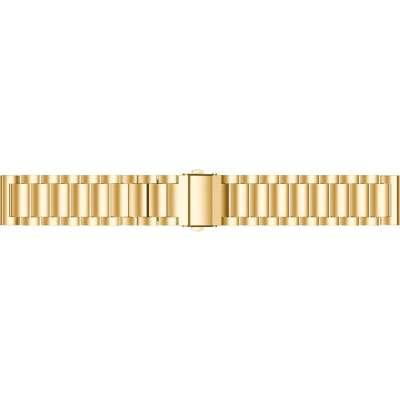 Just in Case Metalen armband voor Samsung Gear Sport - Goud