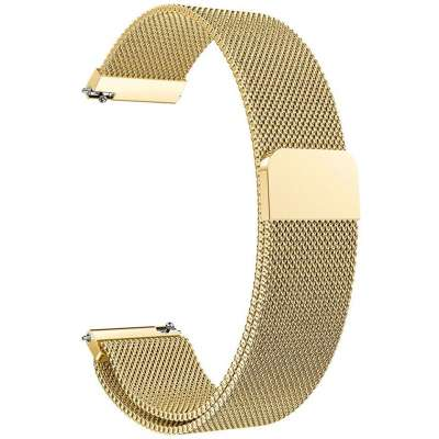 Just in Case Samsung Gear Sport Milanees armband - Goud