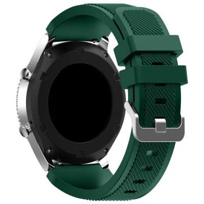Just in Case Sport armband voor Samsung Galaxy Watch 46mm - donker groen