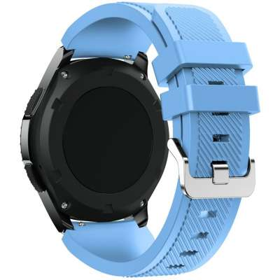 Just in Case Sport armband voor Samsung Galaxy Watch 46mm - lichtblauw