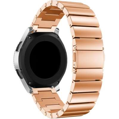 Just in Case Metalen armband Chain voor Samsung Galaxy Watch 46mm - Rose Goud