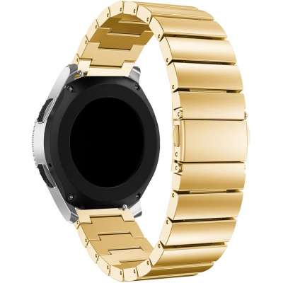 Just in Case Metalen armband Chain voor Samsung Galaxy Watch 46mm - Goud