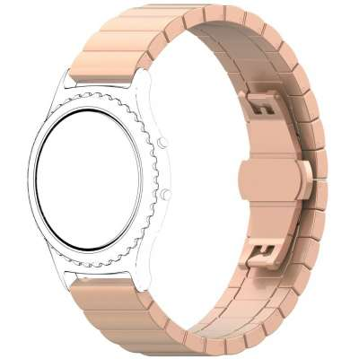 Just in Case Metalen Chain armband Samsung Galaxy Watch 46mm - Rose Goud