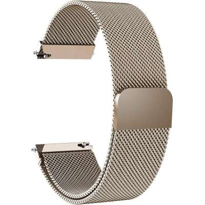 Just in Case Samsung Galaxy Watch 3 45mm Milanees armband - Goud
