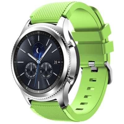 Just in Case Sport armband voor Samsung Gear S3 Classic / Frontier - groen