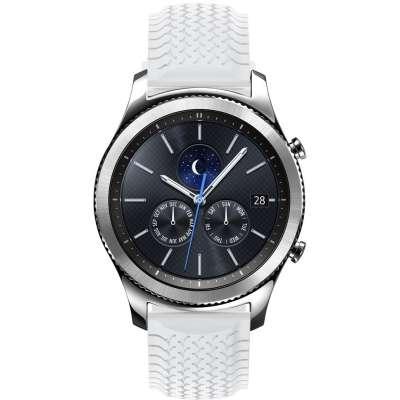 Just in Case Sport bandje voor Samsung Gear S3 Classic / Frontier - White