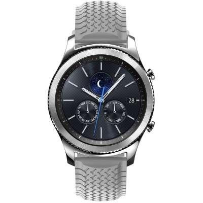 Just in Case Sport bandje voor Samsung Gear S3 Classic / Frontier - Grijs