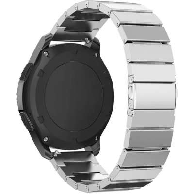 Just in Case Metalen armband Chain Samsung Gear S3 Classic / S3 Frontier - Silver