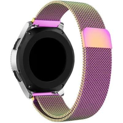 Just in Case Milanees armband voor Samsung Galaxy Watch 46mm - Multi Color