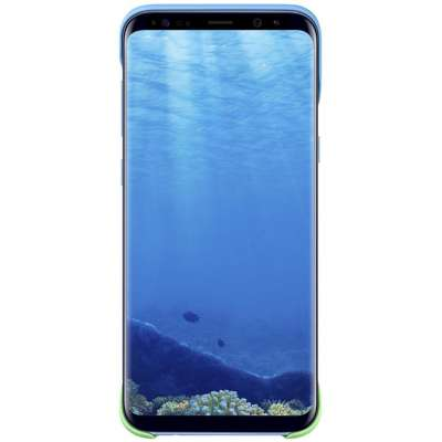 Samsung Galaxy S8 Plus 2Piece Cover - Blauw/Roze