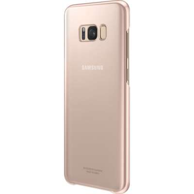 Samsung Galaxy S8 Plus Clear Cover Roze