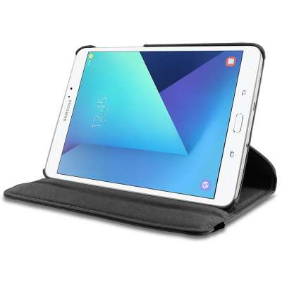 Rotating 360 Case Samsung Galaxy Tab S3 9.7 Folio hoes met stand Zwart
