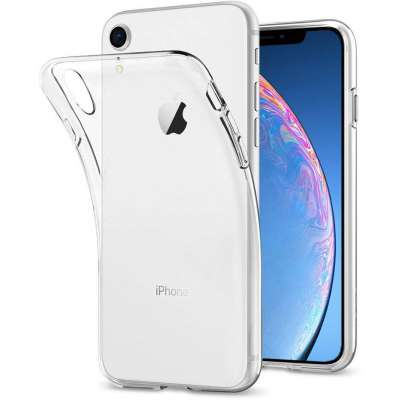 Apple iPhone Xr Flexibel Hoesje Transparant