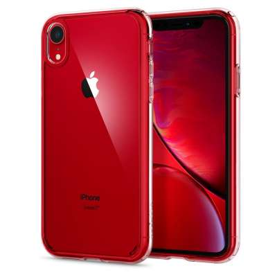 Apple iPhone Xr Hoesje Spigen Ultra Hybrid Transparant