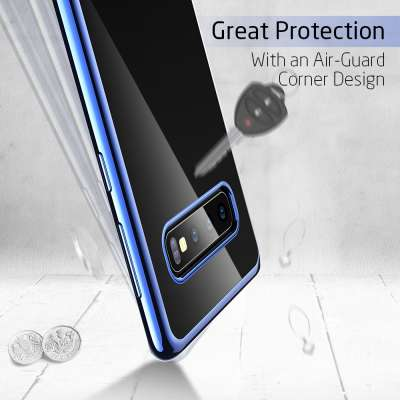 ESR Samsung Galaxy S10 Case Essential - Blauw