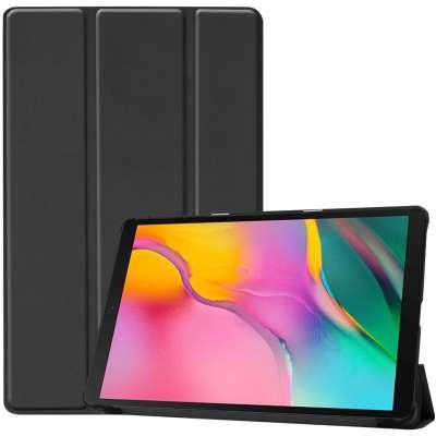 Samsung Galaxy Tab A 10.1 2019 Smart Tri-Fold Case - Zwart