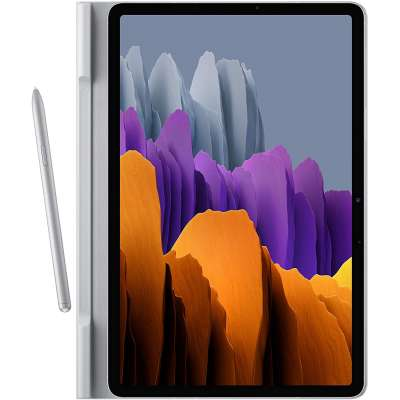 Samsung Tab S7 Hoes - Samsung Book Cover - Grijs