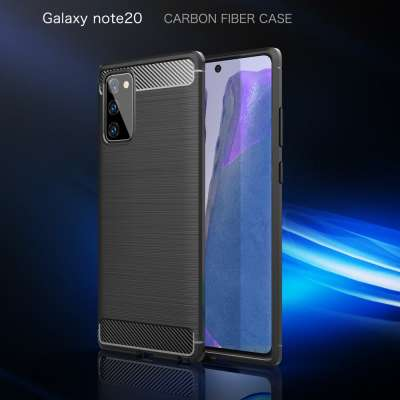 Samsung Galaxy Note 20 Rugged TPU Case - Zwart