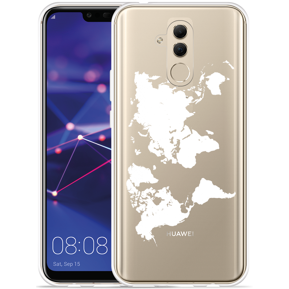 Huawei Mate 20 Lite Hoesje World Map