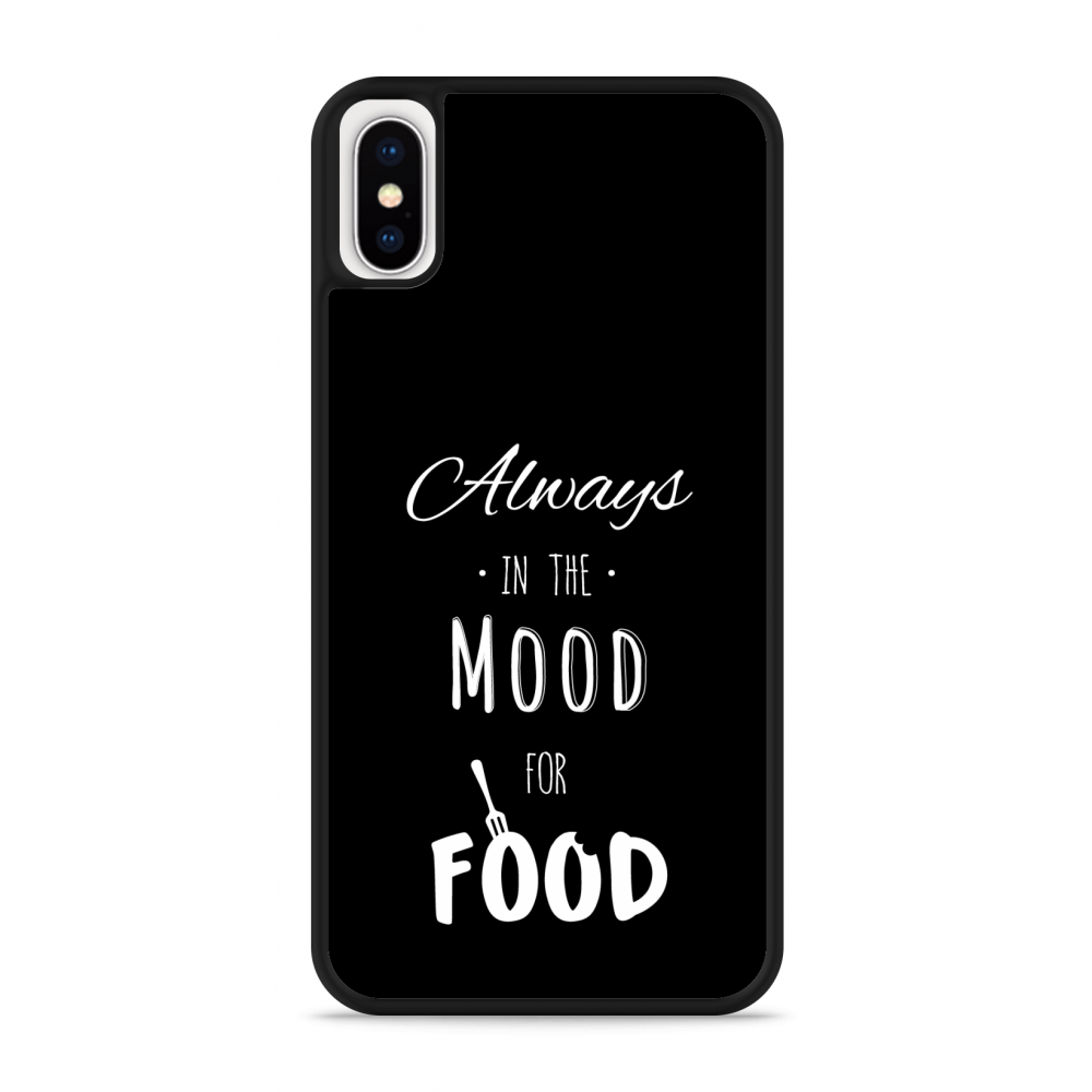 iPhone X Hardcase hoesje Mood for Food II