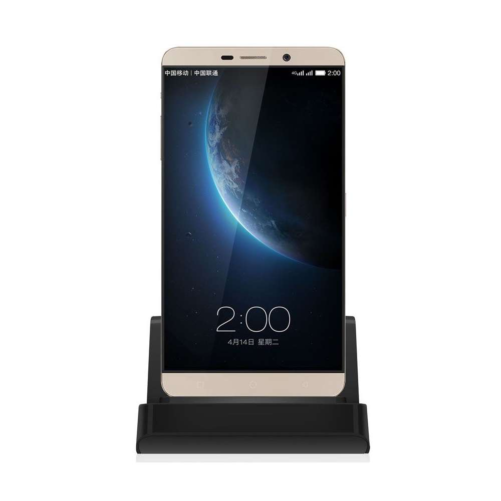 Docking station met USB-C aansluiting voor de Samsung Galaxy A71 - black