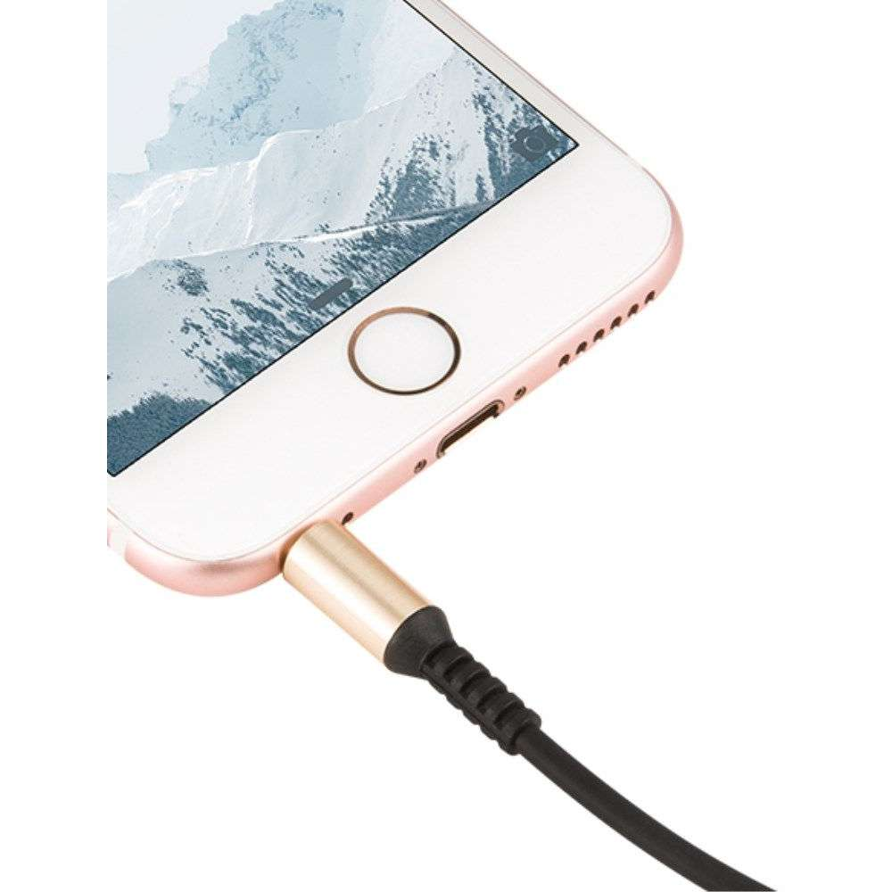 hoco Audiokabel 3.5mm - 1m - Apple iPhone 5C