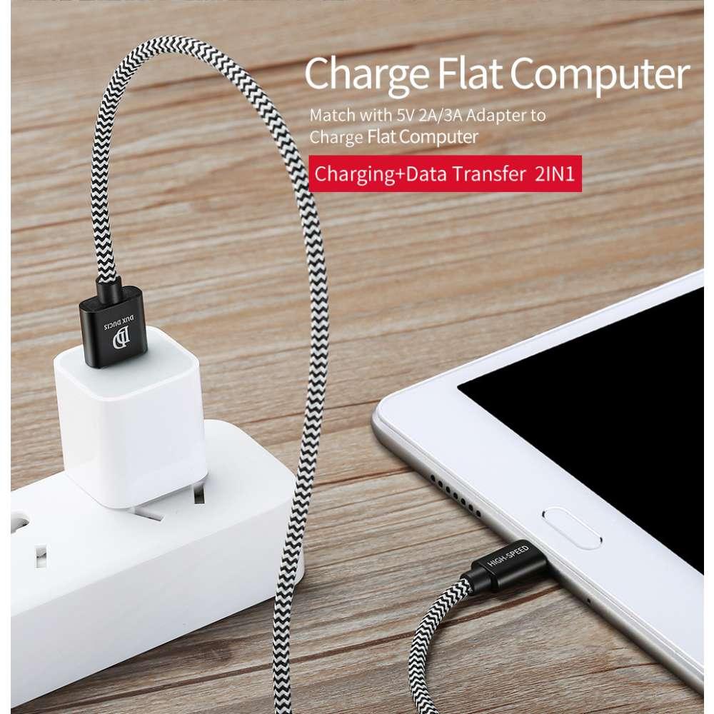 Dux Ducis Micro USB Kabel - 100cm - Zwart