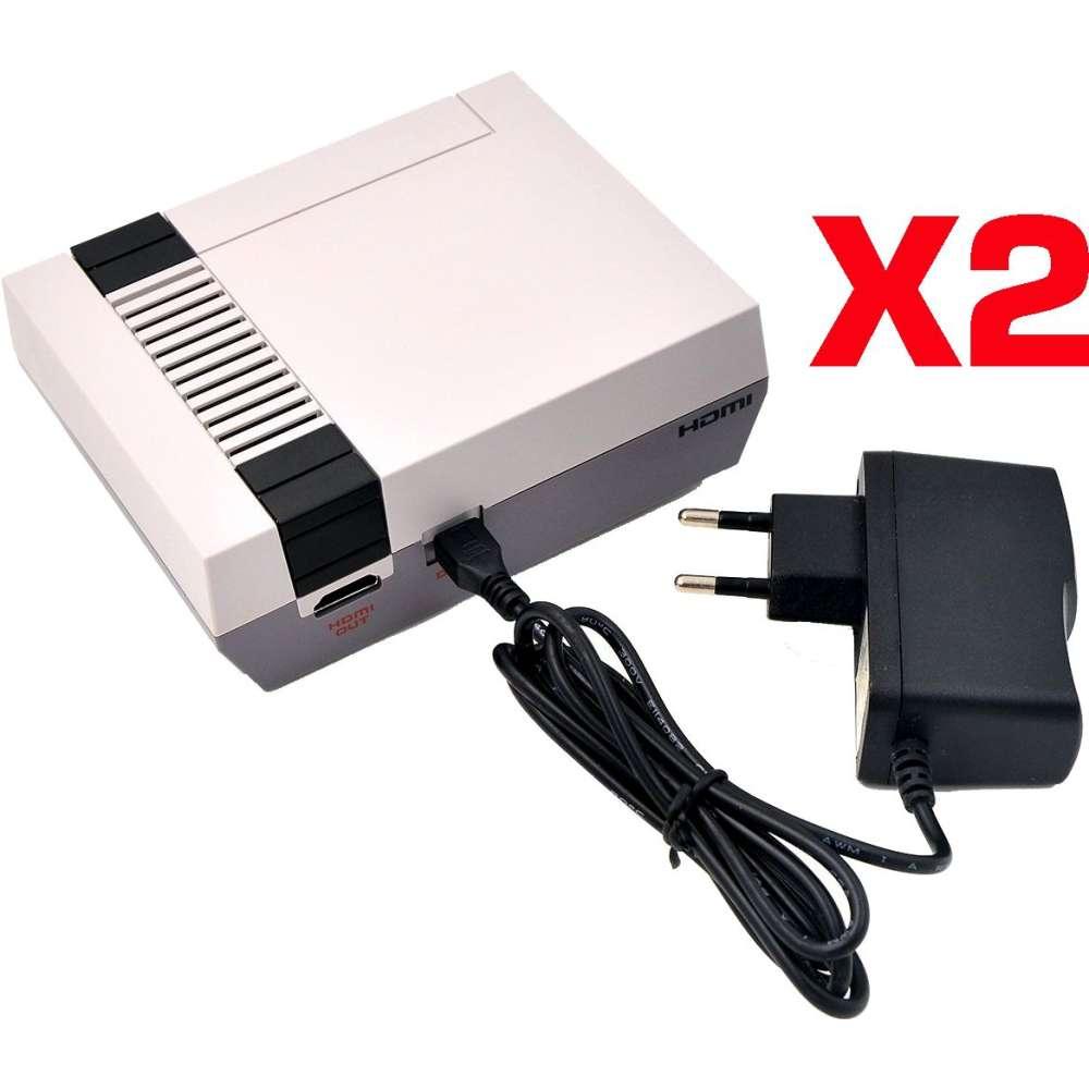 2 Voedingskabel voor Nintendo Mini Classic NES (2016 model)