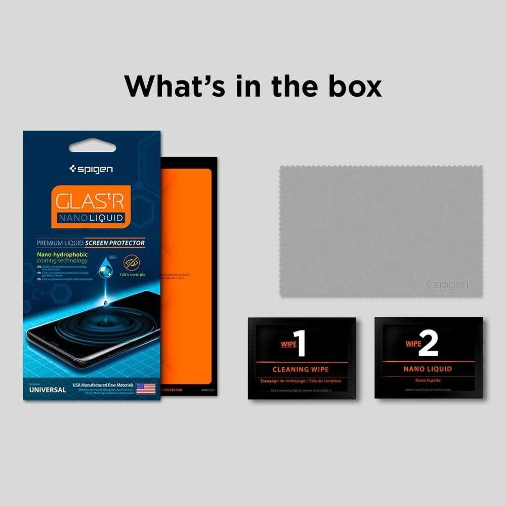 Spigen Premium Nano Liquid Universele Screen Protector 000GL21813