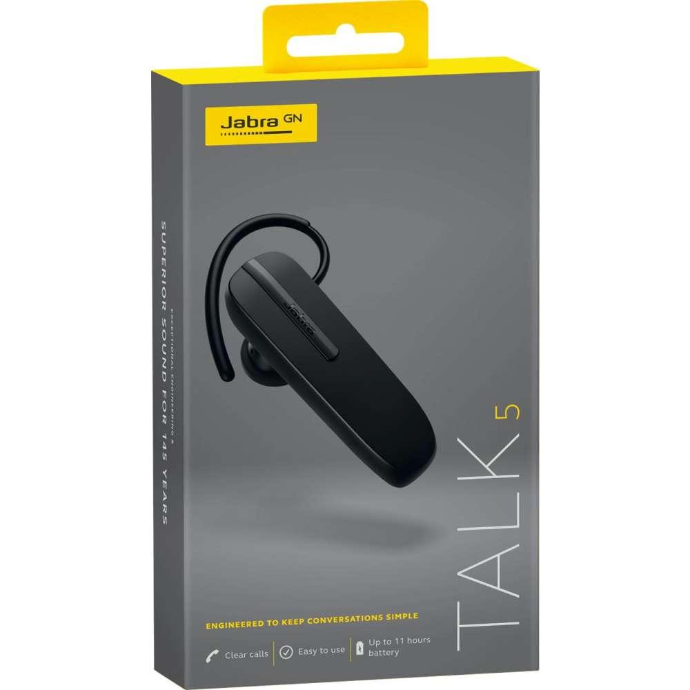 Jabra Talk 5 Bluetooth Headset - zwart