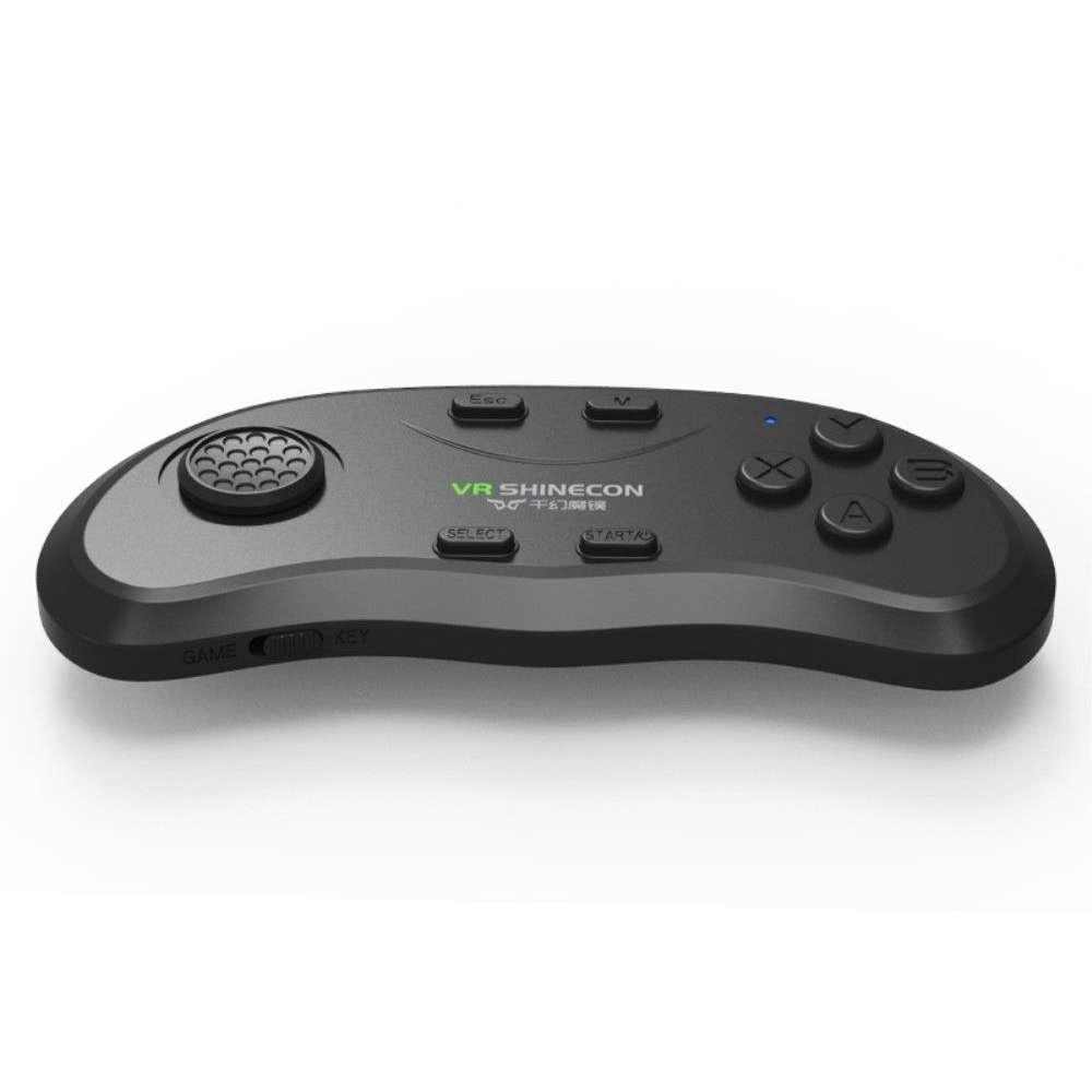 bf020dca3eb003 VR SHINECON Bluetooth Remote Control voor smartphones en tablets - Black