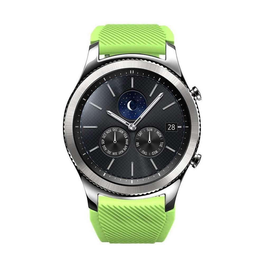 Just in Case Sport armband voor Samsung Galaxy Watch 46mm - groen